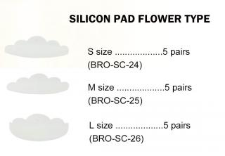 Silicone Pad Flower Type (BRO-SC)